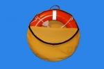 Pokrowiec na koło ratunkowe MARS